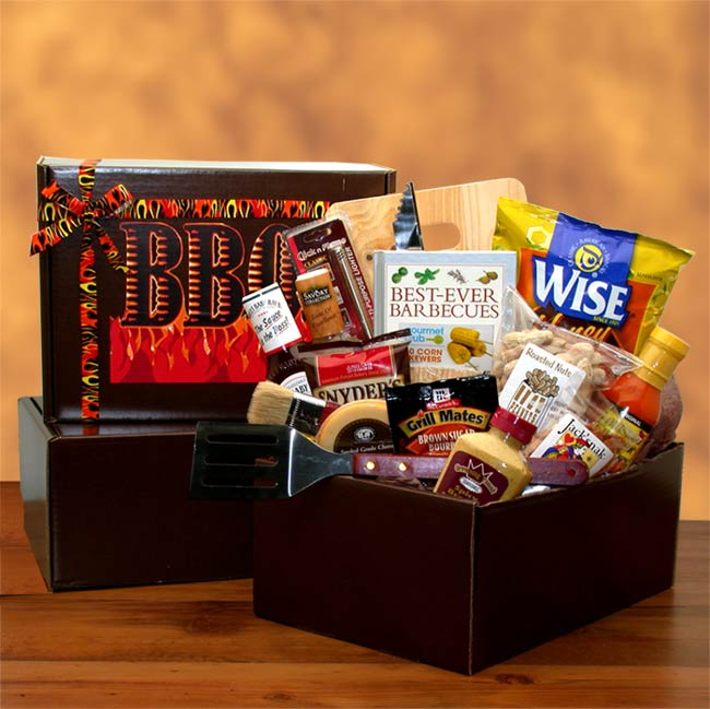 The Barbecue Master Gift Pack - I'm a Gift-Basket Case!