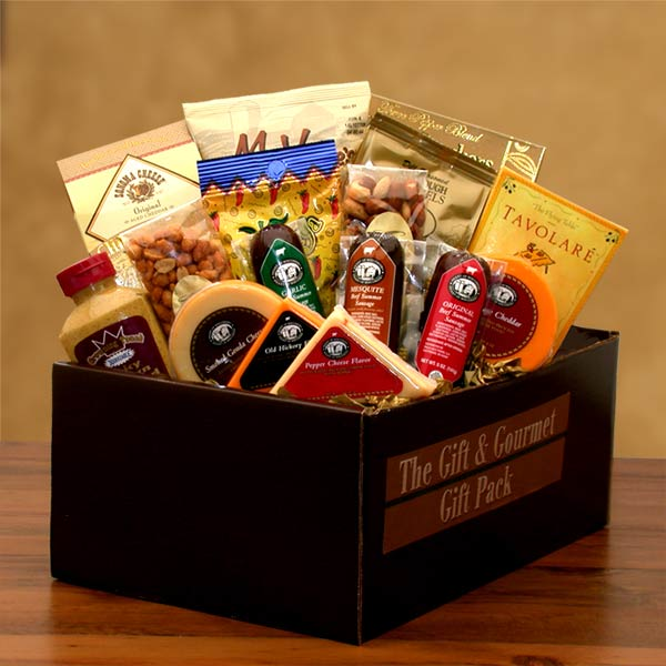 Savory Selections Gift & Gourmet Gift Pack - I'm a Gift-Basket Case!