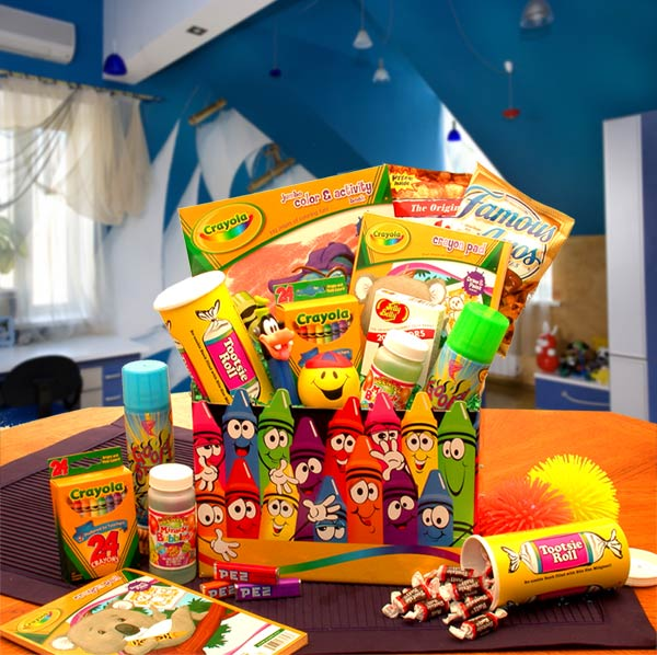 Crayola Kids Gift Box - I'm a Gift-Basket Case!
