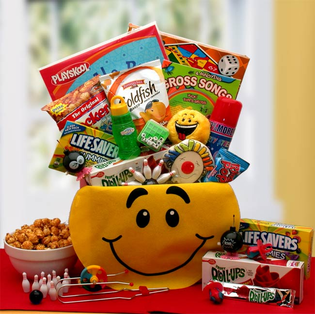 A Smile Today Gift Box - I'm a Gift-Basket Case!
