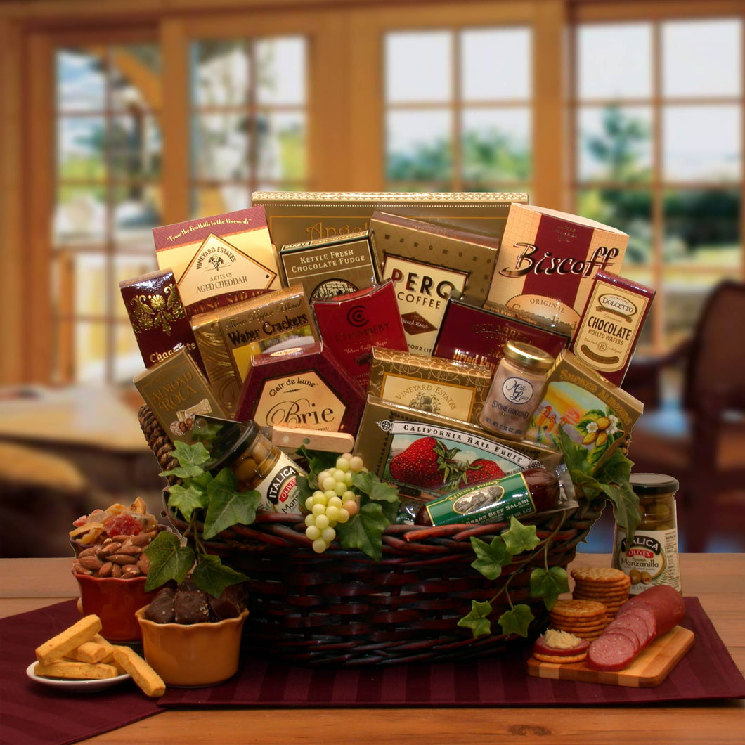 The Ultimate Gourmet Gift Basket