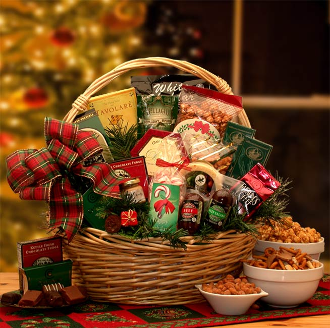 Holiday Celebrations Holiday Gift Basket (Medium)