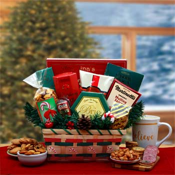 A Taste of the Holidays Gift Basket