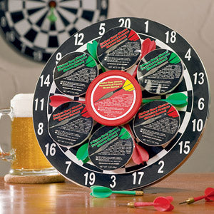 Bullseye Treats Dart Board - I'm a Gift-Basket Case!