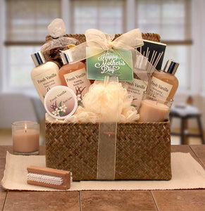 Blissful Relaxation Vanilla Mother's Day Gift Chest