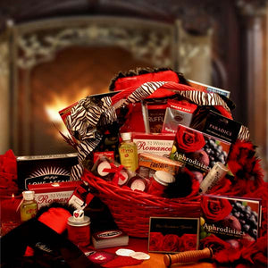 Naughty Nights Couples Romantic Gift Basket**