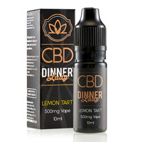 Lemon Tart CBD E-Liquid by Dinner Lady 10ml
