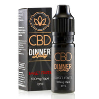 Sweet Fruits CBD E-Liquid by Dinner Lady 10ml