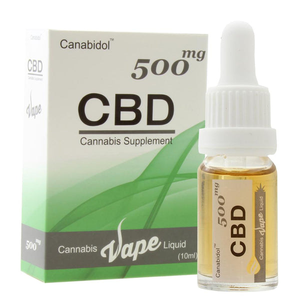 CBD Vape Liquid (500mg 10ml)