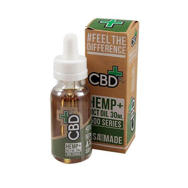 Hemp MCT Oil Tincture (500mg 30ml)
