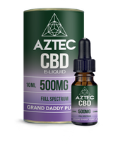 Granddaddy Purple CBD E-Liquid by Aztec CBD 10ml