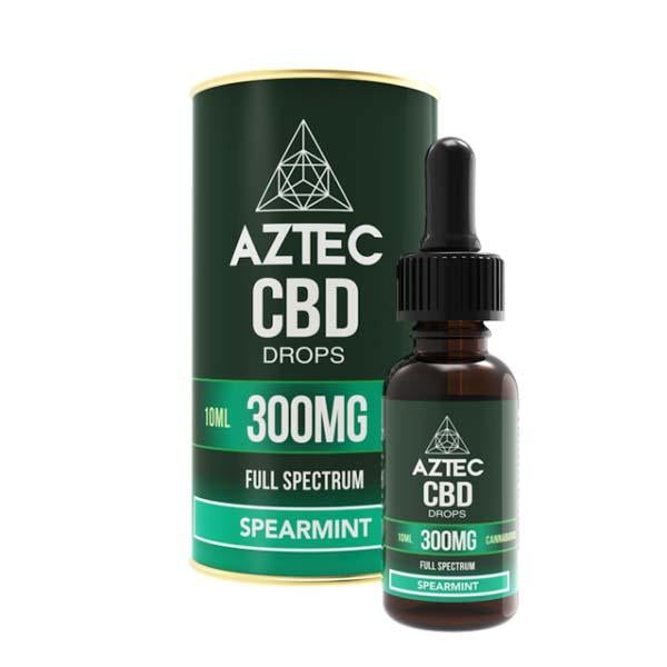 Aztec CBD Spearmint Drops 10ml