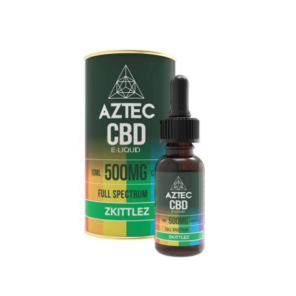 Aztec CBD Zkittlez E-Liquid 10ml