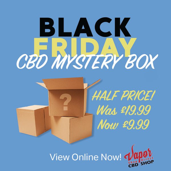 CBD 40ml E-liquid Mystery Box (Expired)