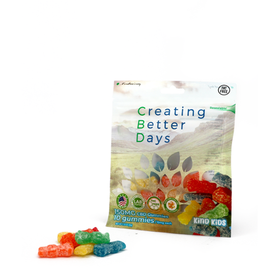Kind Kids CBD Gummies (150mg)
