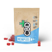 CBDFX Hemp Gummy Bears 8ct Pouch - 40mg