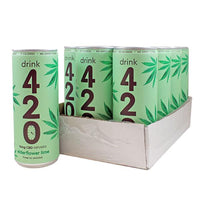 CBD Elderflower Lime by Drink 420 15mg 250ml (pack of 12)
