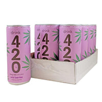CBD Wild Berries by Drink 420 15mg 250ml (pack of 12)