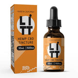 Litt CBD Hemp Tincture (30ml Up to 1500mg)