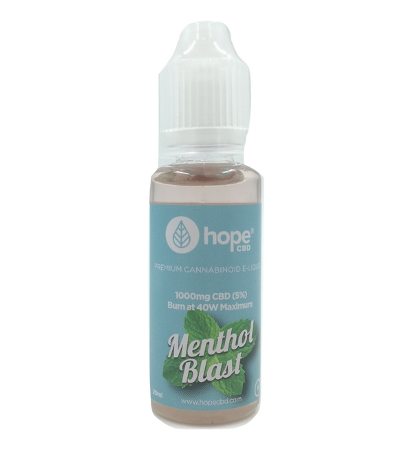 Menthol Blast CBD E-Liquid (1000mg 20ml)
