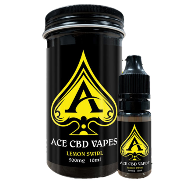Lemon Swirl CBD E-Liquid (10ml Up to 500mg)