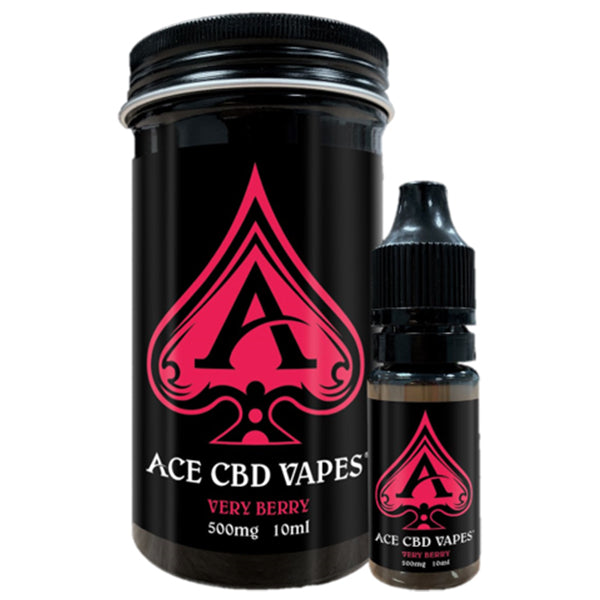 Very Berry CBD E-Liquid by Ace CBD Vapes 10ml