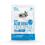 CBD +FX Face Mask 20mg / 1pc | Aloe Vera