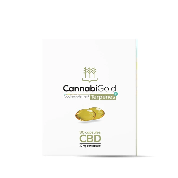 Food Supplement Terpenes 10mg per capsule