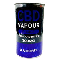 Blueberry By CBD Vapour E-Juice
