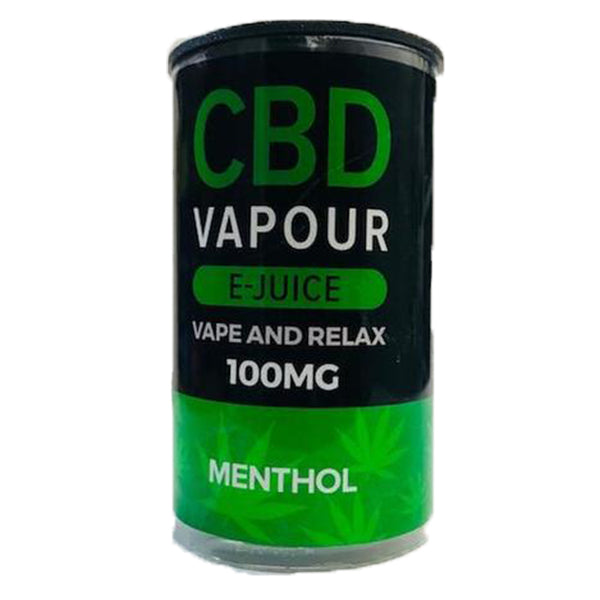 Menthol CBD E-liquid (10ml 100mg)