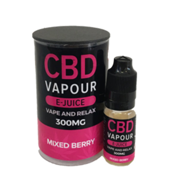 Mixed Berry By CBD Vapour E-Juice - 10ml