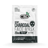 CBD +FX Face Mask 20mg / 1pc | Charcoal