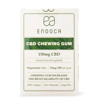Endoca CBD Chewing Gum Peppermint 150mg 10pcs