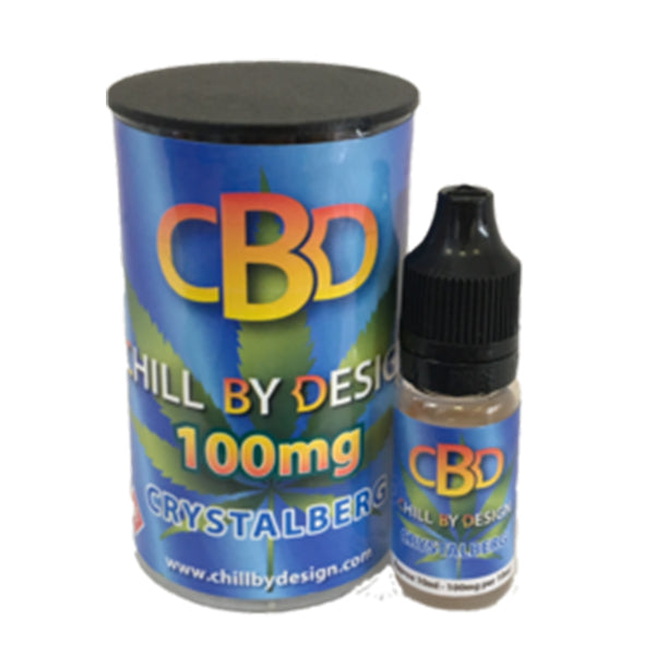 Crystalberg CBD E-liquid (10ml 100mg)