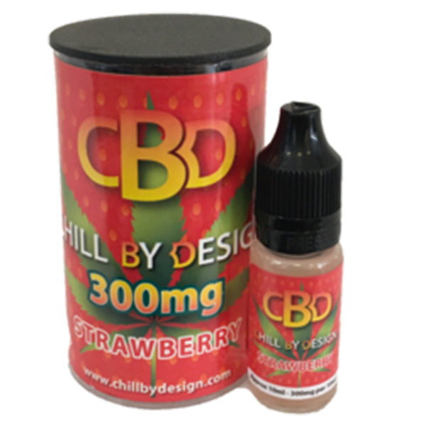 Strawberry CBD E-liquid (10ml 100mg)