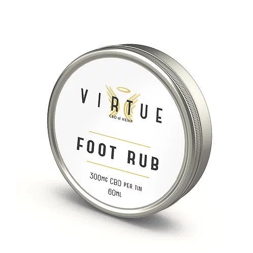 CBD Foot Rub by Virtue CBD 60ml 300mg