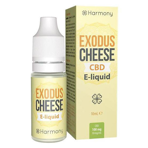 Harmony - Exodus Cheese CBD E-liquid - 10ml