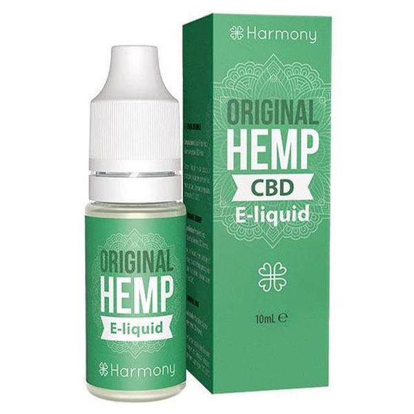 Harmony - Original Hemp CBD E-liquid - 10ml