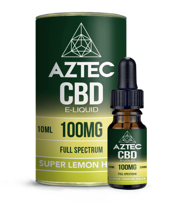 Super Lemon Haze CBD E-Liquid by Aztec CBD - Vapor Shop Direct CBD