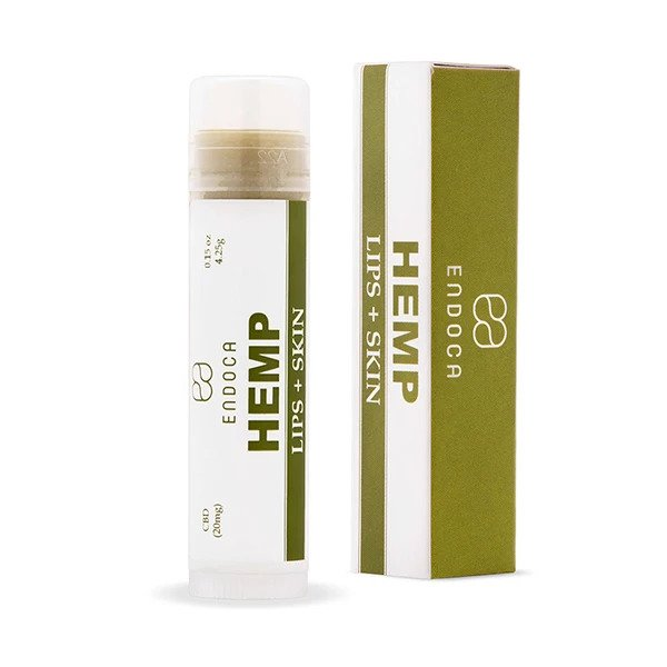 CBD Hemp Lips + Skin Balm (20mg 0.15 Oz)