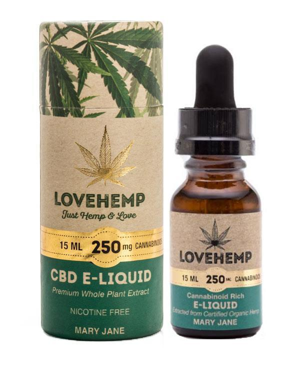CBD Mary Jane E-liquid (250mg 15ml)