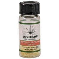 Love Hemp CBD Terpene Infused Crystals 1000mg Watermelon Kush