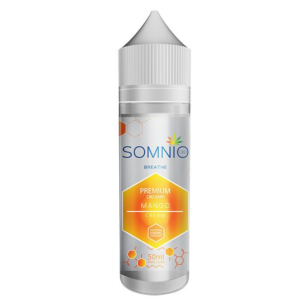 Mango Cream CBD E-Liquid (50ml 300mg)