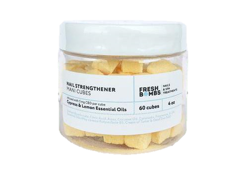Nail Strengthener CBD Mani Cubes (4oz 5mg)