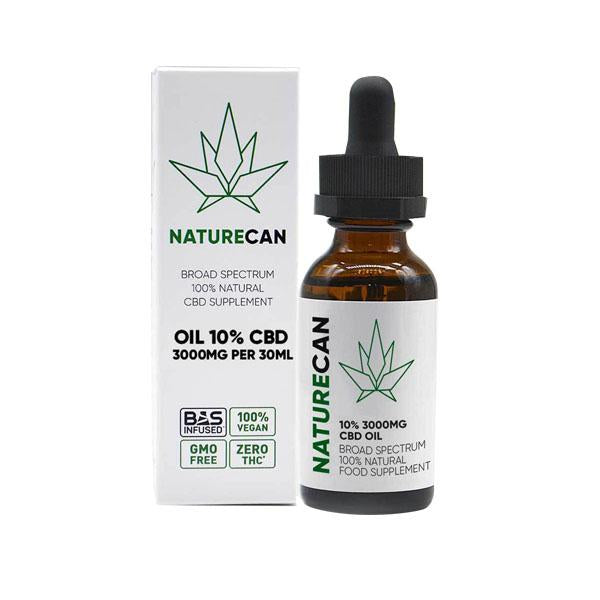 Naturecan CBD Broad Spectrum 100% Natural Oil 30ml