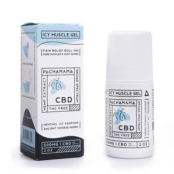 CBD Icy Muscle Gel Menthol (2oz 500mg)