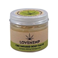Love Hemp CBD Infused Body Salve 300mg - Vapor Shop Direct CBD