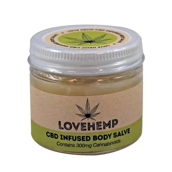 CBD Infused Body Salve (300mg)