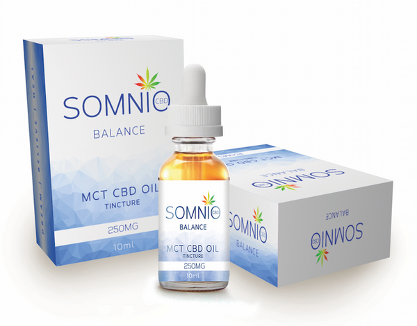 Balance MCT CBD Oil Tincture (10ml Up to 1000mg)