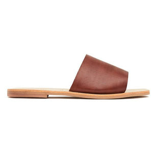 St Agni Margot Slide - Antique Tan